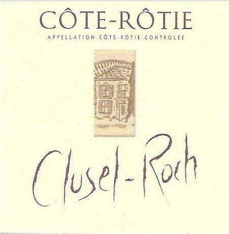 Domaine Clusel-Roch Cotie-Rotie wine label