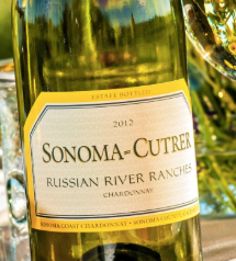 Sonoma-Cutrer Chardonnay Wine Bottle