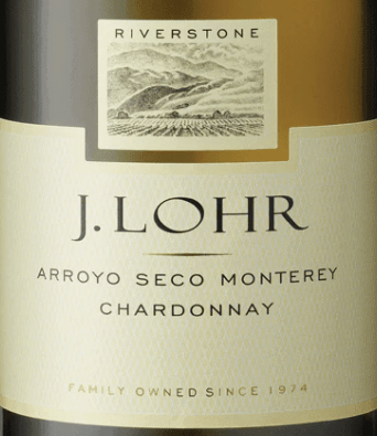 J. Lohr bottle of Chardonnay