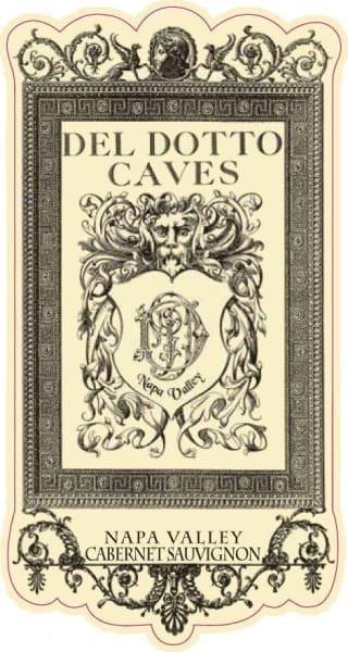 Del Dotto Cabernet Sauvignon wine label