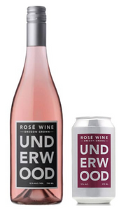 Bottle and Can of Underwood Rose