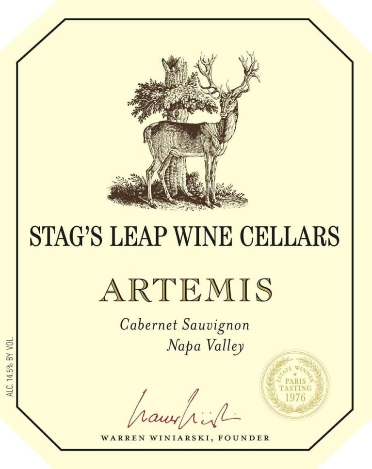 Stag's Leap Cabernet Sauvignon wine label