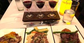 Fun Restaurant Experience: Flights of Wine & Food