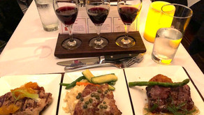 Fun Restaurant Experience: Flights of Wine & Food