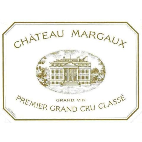 Chateau Margaux Bordeaux Wine Label