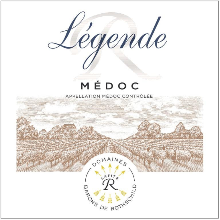Legende Medoc 2016 wine label