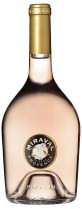 Bottle of Miraval Rose