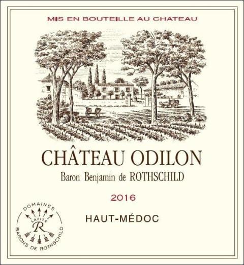 Example of Haut-Medoc AOC wine label.