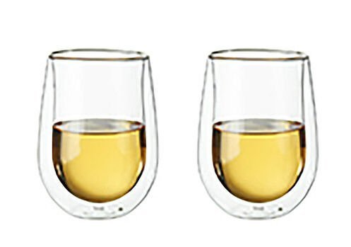 Double Walled Wine Glasses