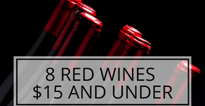 8 Red Wines $15 and Under Rated 90+