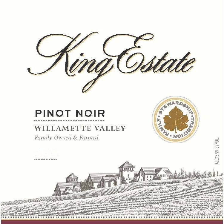 King Estate Pinot Noir.