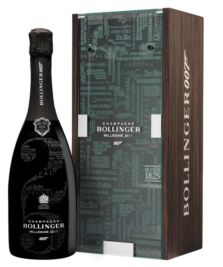 Bottle of Bollinger Jame Bond 007 with Gift Box.