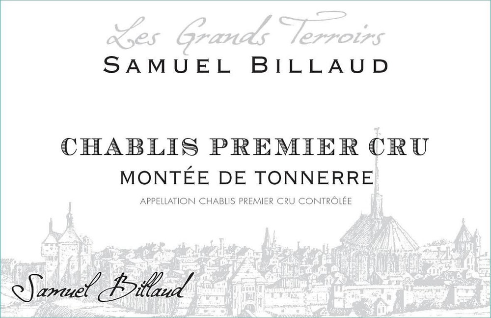 Chablis Premier Cru wine label