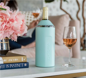Vinglace seaglass wine chiller.