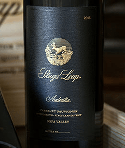 Stags' Leap Cabernet Sauvignon Wine Bottle