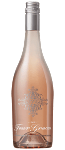 Four Graces Rose of Pinot Noir wine bottle | commongrape.com
