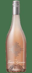 Four Graces Rose of Pinot Noir wine bottle   commongrape.com