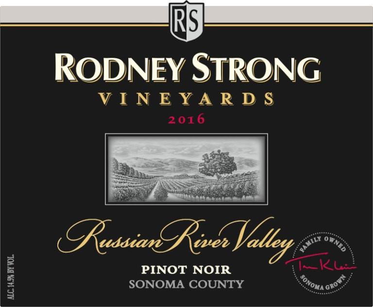 Rodney Strong Pinot Noir.