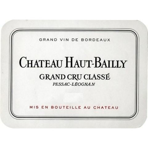 Example of a Grand Cru Classe wine label.