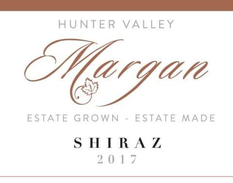 Margan Shiraz wine label.