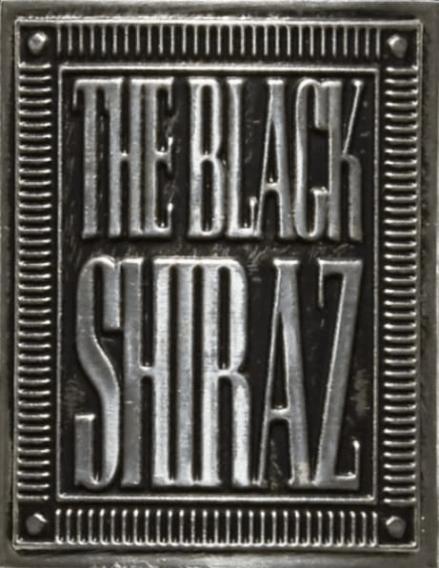 Wine Label for The Black Shiraz