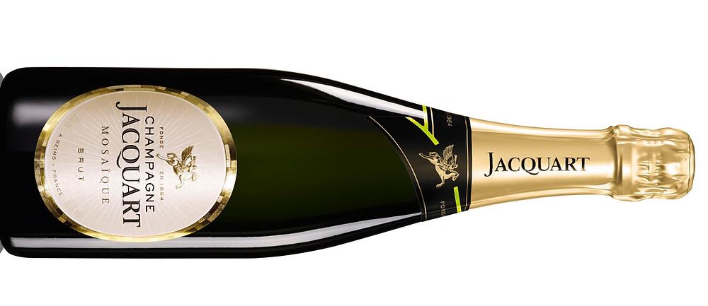 Bottle of Jacquart Brut Mosaique