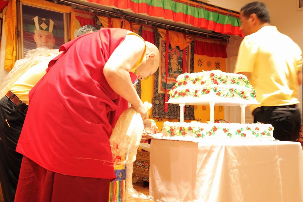 Here's For The Long Life Of Karmapa