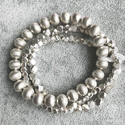 Set of 3 Sterling Silver Bracelets (Set A)