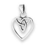 Celtic Heart with Trinity Knot