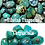 Thumbnail: Necklace - Tibetan Turquoise, Chrysocolla and 925 Silver