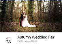 Wedding fayre Wednesday- come and see us