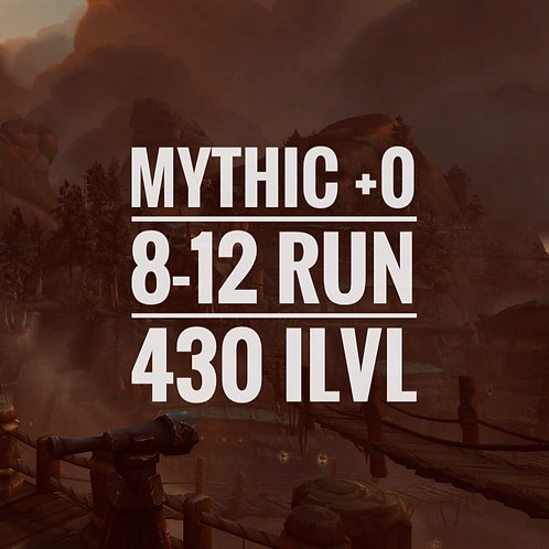 [8x...12x]Mythic +0
