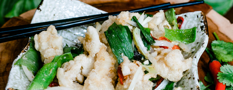 Salted & Pepper Squid