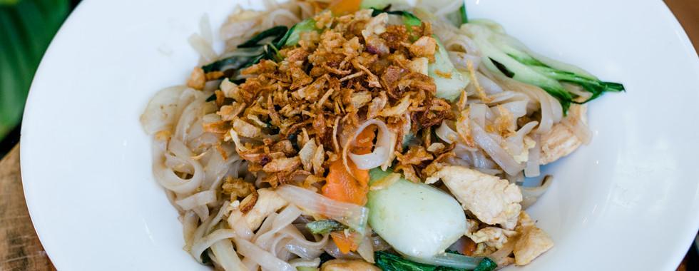 Stir-fried rice noodle
