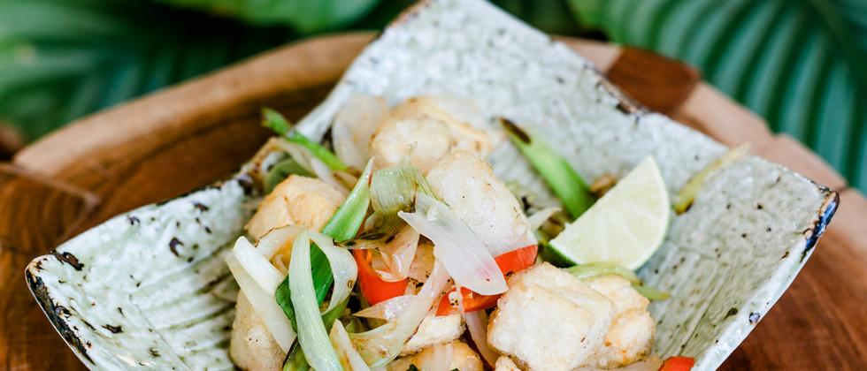 Salted & Pepper Tofu