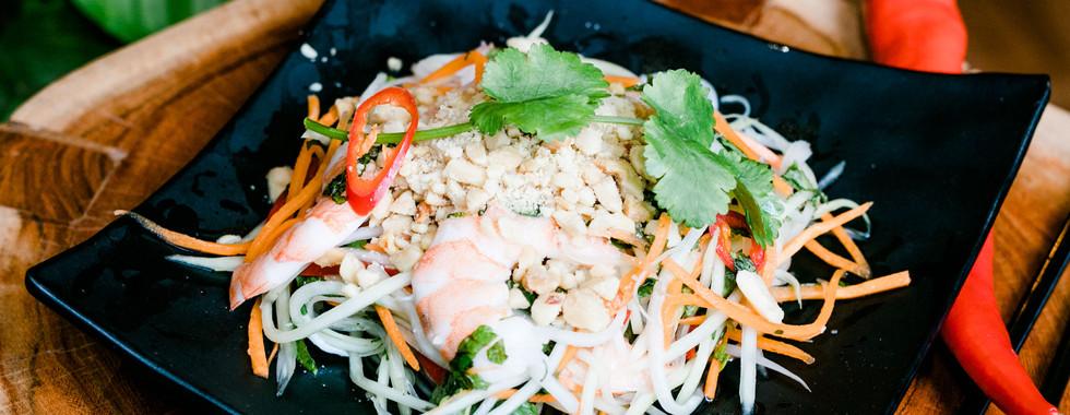Prawn Papaya Salad