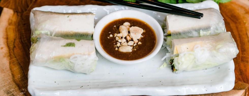 Tofu Summer Rolls