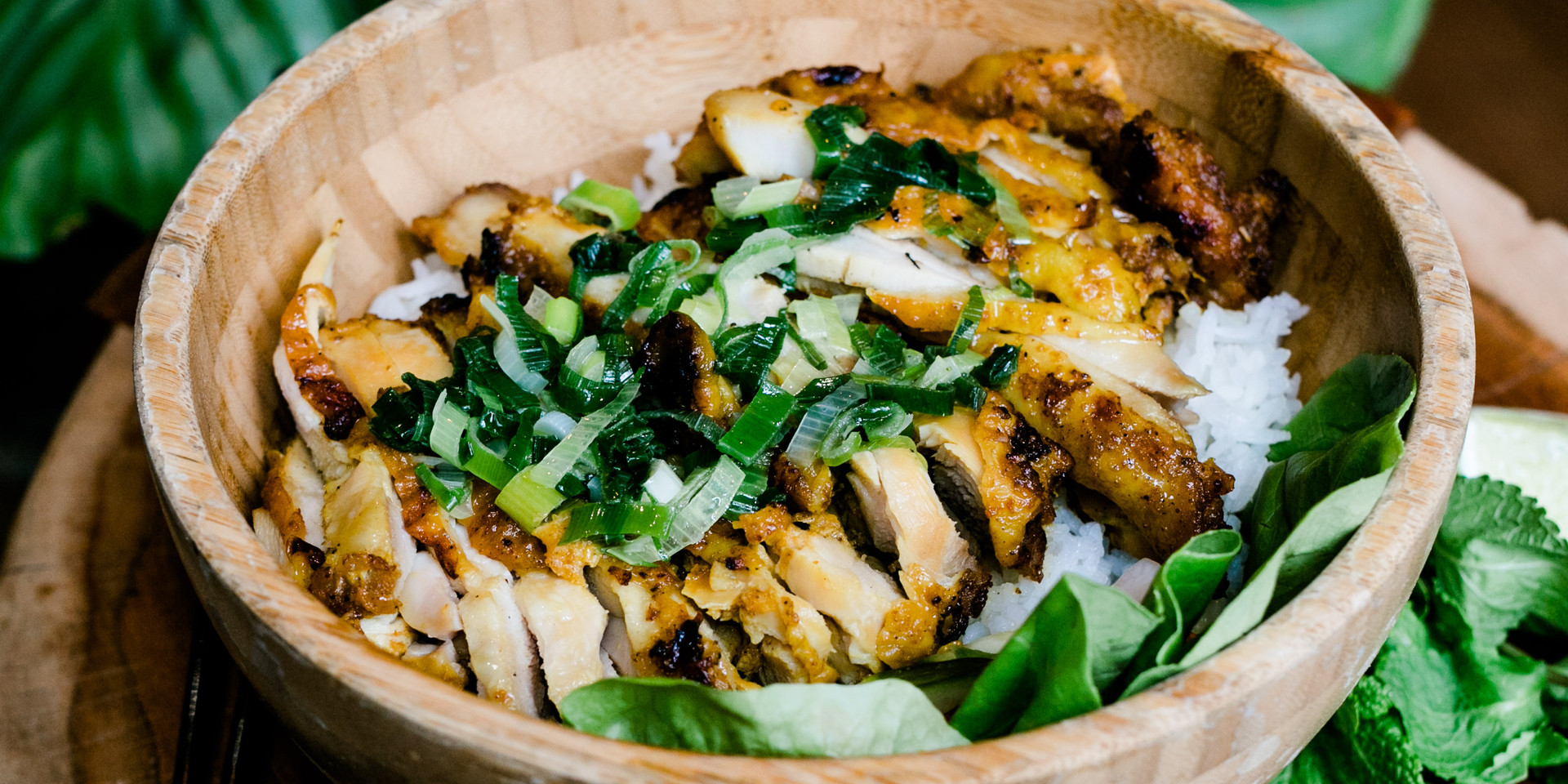 Com Tron Grilled Chicken