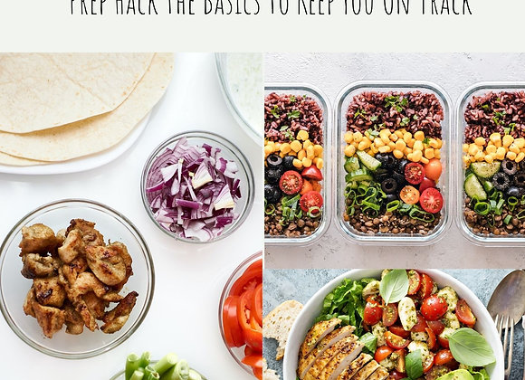 Prep Hack E-Book: Meal Prep Made Easy