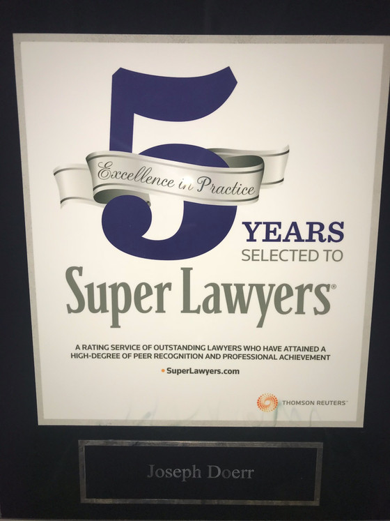 Doerr Law Firm Achieves Fab Five
