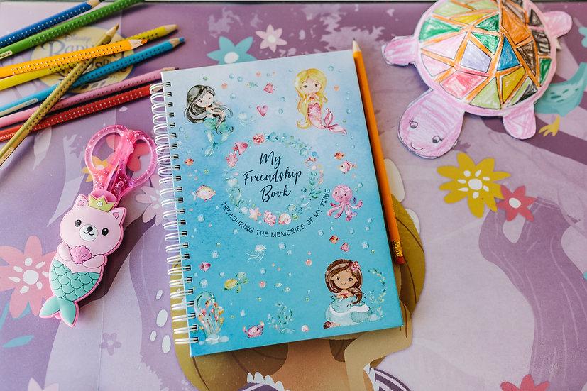 Friendship Book & Sticker Sheet