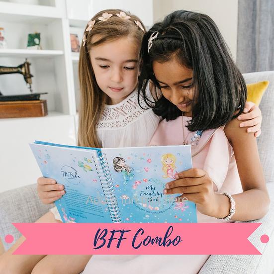 BFF Combo - 2 Friendship Books & Sticker Sheets