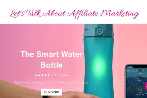 Let's Talk About Affiliate Marketing