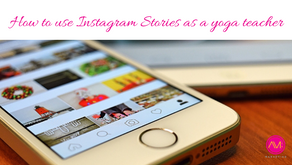 How to use Instagram Stories as a yoga teacher