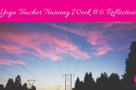 Yoga Teacher Training - Week #6 Reflection