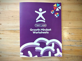 Printed Growth Mindset Workbook