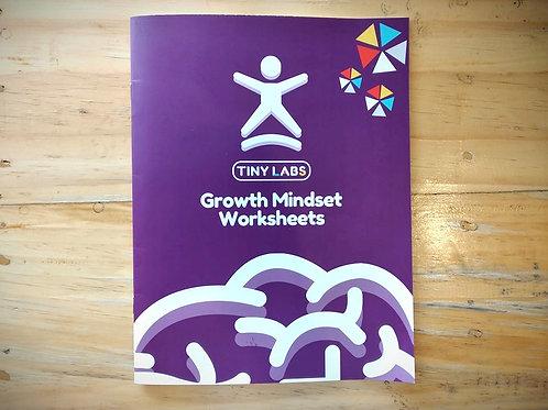 Printed Growth Mindset Workbook