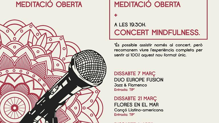 MEDITACIÓ & CONCERT  MINDFULNESS