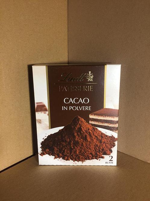 Cacao en poudre lindt 125g 0€89