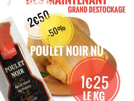🔴en direct 1€25 le kilo / 🐓 poulet